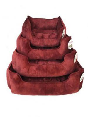 PET PRETTY COMFORT SET NO : 3 KÖPEK YATAĞI BORDO