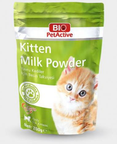 BIO PETACTIVE KITTEN MILK POWDER 200 GR